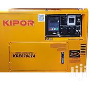 KDE 6700 TA Kipor Generator - Yellow | Electrical Equipments for sale in Central Region, Kampala