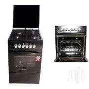 C5031E-B- 3 Gas + 1 Electric Plate Gas Cooker & Oven 50*50cm - Black | Kitchen Appliances for sale in Central Region, Kampala