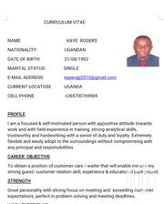 Driver Job | Driver CVs for sale in Central Region, Kampala