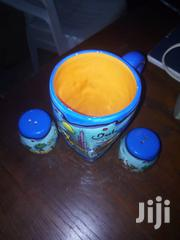 Big Blue And Yellow Mug With Salt N Pepper Shakers | Kitchen & Dining for sale in Central Region, Kampala