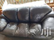 Used 4 Seater Leather Sofa Set 3 + 1 | Furniture for sale in Western Region, Kabalore