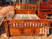 New Bed 5 by 6 in Hard Mugavu Wood | Furniture for sale in Central Region, Kampala
