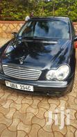 Black Classic Mercedese Benz C200 Uba Petrol In Great Condition | Cars for sale in Kisoro, Western Region, Uganda