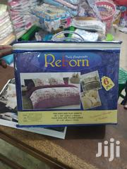 Cotton Bedshits for King Size Bed Plus 4 Pilow Cases | Furniture for sale in Central Region, Kampala