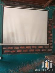 Foldable Projection Movie Screen For Sale | TV & DVD Equipment for sale in Central Region, Kampala