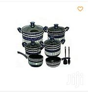 10 Piece Tornado Non Stick Cookware Set With No Spoons - Blue,Black | Kitchen & Dining for sale in Central Region, Kampala