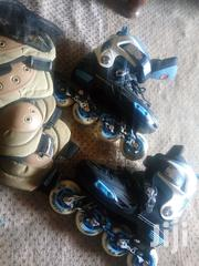 A Pair of Roller Skete Shoes With Ankles Knees Covers | Shoes for sale in Central Region, Kampala