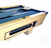 Pool Table With 2 Cues and a Set of Balls - Brown, Black | Sports Equipment for sale in Central Region, Kampala