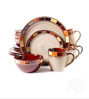 16 Pcs Checked Dinner Set . Multi Color | Kitchen & Dining for sale in Central Region, Kampala