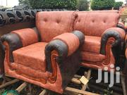 5 Seater Leather Sofa Set | Furniture for sale in Central Region, Kampala