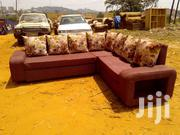 Simple L Shape Sofa | Furniture for sale in Central Region, Kampala