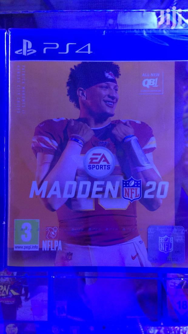 Archive: PS4 Video Game Madden 20