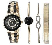 Crystal Accented Watch And Bracelet Set | Watches for sale in Central Region, Kampala