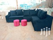 Navy Blue L Shaped Sofa | Furniture for sale in Central Region, Kampala