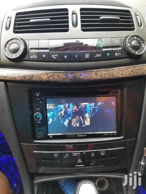 SONY Radio Fitted In Benz E320