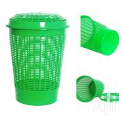 Plastic Laundry Basket With A Lid - Green | Home Accessories for sale in Central Region, Kampala