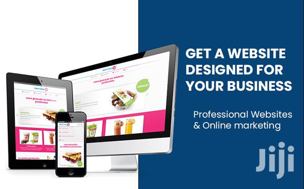Get A Website Designed For Your Business Today