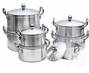 7 Stainless Cooking Saucepans Pots Pack | Kitchen & Dining for sale in Central Region, Kampala