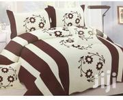 Cotton Floral Light Bed Spread 6*6 - Brown | Home Accessories for sale in Central Region, Kampala