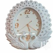 Sonam Silent Non Ticking Peacock Stylish Wall Clock - White | Home Accessories for sale in Central Region, Kampala