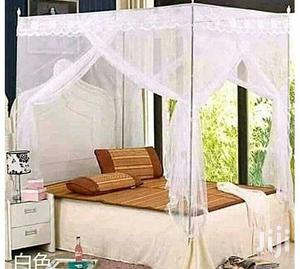 6*6 Mosquito Net With Stands - White