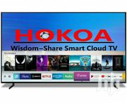 Hokoa Android Smart Flat Screen LAN & Wifi - 55 Inch Black | TV & DVD Equipment for sale in Central Region, Kampala