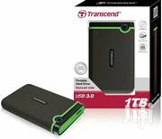 Transcend Portable External Hard Drive Storejet 25M3 2.5-inch 1TB | Computer Hardware for sale in Central Region, Kampala