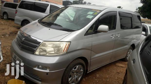 Archive: New Toyota Alphard 2004 Silver