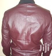 Bomber Leathered Maroon Jacket | Clothing for sale in Central Region, Kampala
