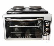 Blueflame BF-0125 Mini Oven With 2 Hot Plates, 40 Litre - Inox | Restaurant & Catering Equipment for sale in Central Region, Kampala