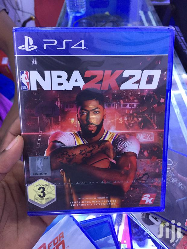 NBA 20 For Ps4