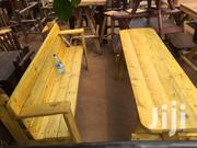 Ready To Take Outdoor Bench, 100% Dry Musambya Timber   Furniture for sale in Central Region, Kampala