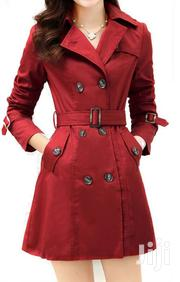 Red Trench Coat | Clothing for sale in Central Region, Kampala
