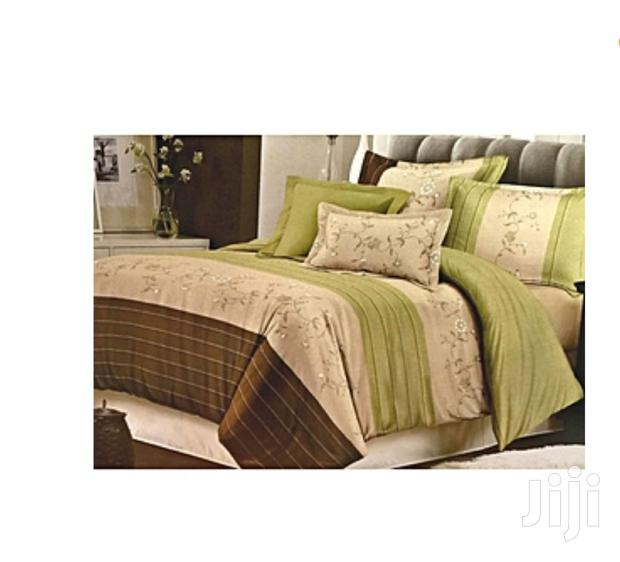 Duvet With One Bed Sheet And Two Pillowcase
