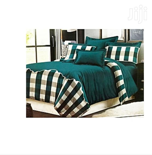 6by6 Duvet With One Bed Sheet and Two Pillow Cases