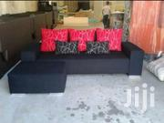 Mini L/Sofa In Black & Red | Furniture for sale in Central Region, Kampala