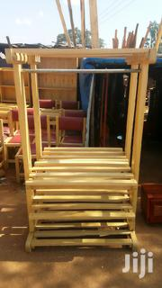 Shoe Rack In Natural Colour | Furniture for sale in Central Region, Kampala