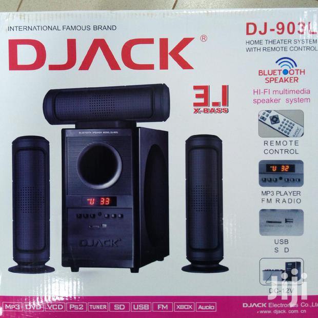 Archive: D'jack Home Thieter Music Systeem