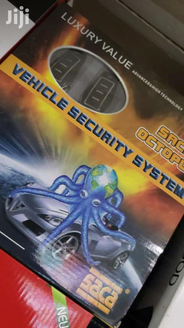 Car Alarm For Vechicle Security