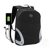 Anti-Theft Laptop Bag With a Charging Port Black | Bags for sale in Central Region, Kampala