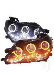 Toyota Reiz Mark X LED Angel Eyes Head Light Projector Lens JC | Vehicle Parts & Accessories for sale in Central Region, Kampala