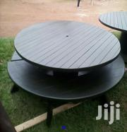 Round Table Plus Two Moon Benches | Building & Trades Services for sale in Central Region, Kampala