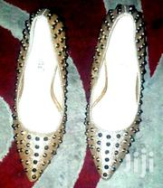 Shiny Gold Sharp Heels | Shoes for sale in Central Region, Kampala