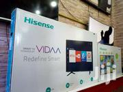 HISENSE 55 INCHES SMART ULTRA HD ANDROID FLAT SCREEN TV | TV & DVD Equipment for sale in Central Region, Kampala