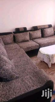 L Shape Sofa Set 7 Seater In Good Condition   Furniture for sale in Central Region, Kampala