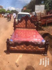 5by6 Lathered Pinned Bed | Furniture for sale in Central Region, Kampala