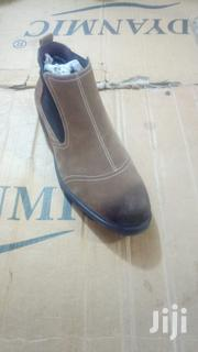 High Class Genuine Leather Boots Comfortable Ankle Boots For Men | Shoes for sale in Central Region, Kampala