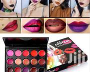 Popfeel Lipsticks Palette Water Proof Long Lasting Pigment Gothicstyle | Makeup for sale in Central Region, Kampala