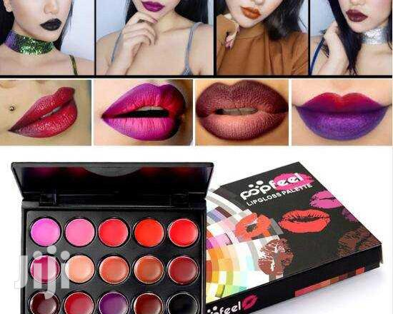 Archive: Popfeel Lipsticks Palette Water Proof Long Lasting Pigment Gothicstyle