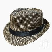 Checkered and Very Stylish Unisex Fedora Hat - Brown | Clothing Accessories for sale in Central Region, Kampala